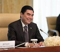 Глава Туркменистана Гурбангулы Бердимухамедов. Архивное фото