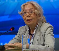 Архивное фото руководителя департамента международного сотрудничества аппарата правительства Татьяны Валовой