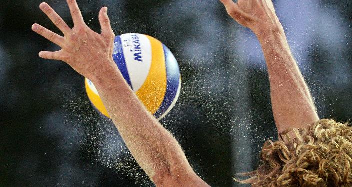 Пляжный волейбол. Этап Большого шлема