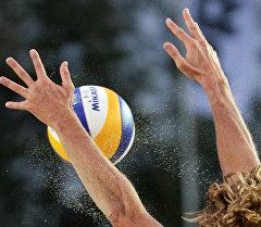 Пляж волейбол оюну. Архив