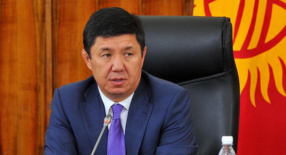 Премьер-министр КР Темир Сариев. Архивное фото