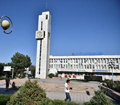 Бишкектеги курант сааты. Архив