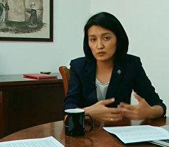 LIVE: интервью с министром образования Эльвирой Сариевой