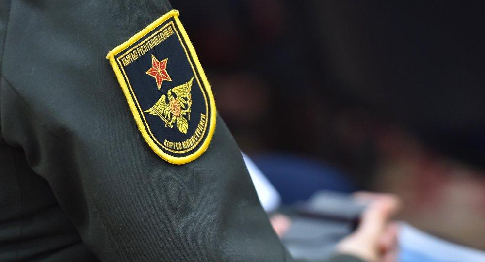 Шеврон министерства обороны Кыргызской Республики. Архивное фото