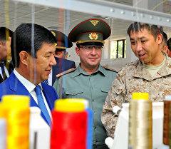 Премьер-министр Темир Сариев Коргоо министрлигине караштуу Тиричилик тейлөө комбинатында болду.