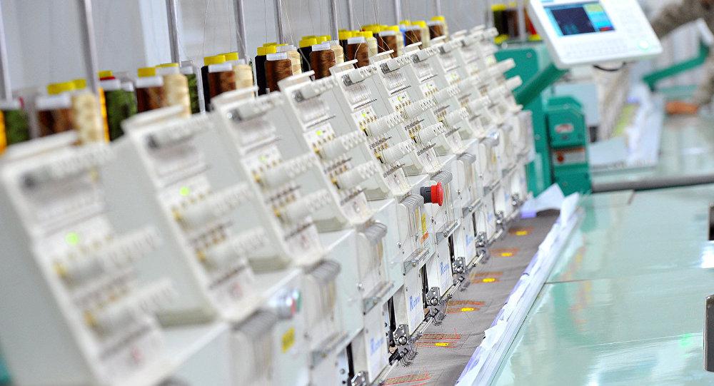 Производство легкой промышленности в Кыргызстане. Архивное фото