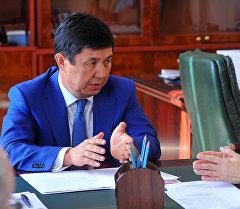 Темир Сариев Евразиялык экономикалык комиссиясынын коллегиясынын төрагасынын милдетин аткаруучу Татьяна Валоваяны кабыл алды.