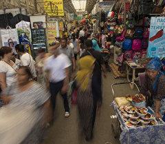 Рынок Дордой. Архивное фото