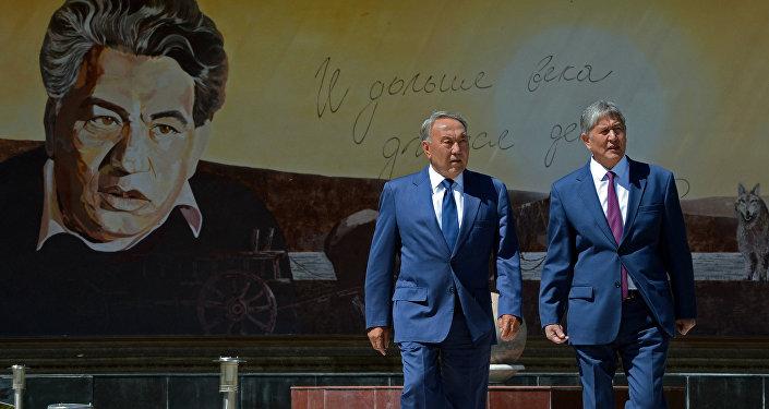 Церемония отмены таможенного контроля на контрольно-пропускном пункте Ак-Жол прошла с участием премьер-министра КР Темира Сариева.