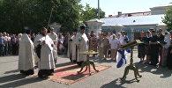 Молебен в память о погибших на подлодке Курск отслужили в Петербурге
