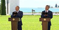 Атамбаев — убрать посты. Церемония снятия таможенных барьеров