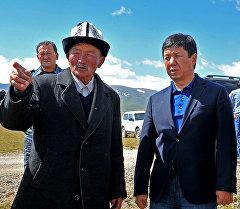 Премьер-министр Темир Сариев Нарын облусуна жасаган эки күндүк иш сапарында.