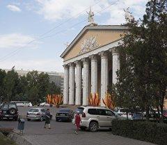 Абдылас Малдыбаев Кыргыз улуттук Опера жана Балет театры. Архив