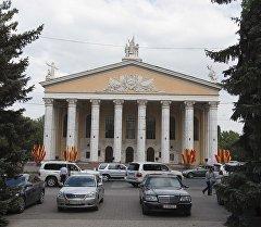 Театр оперы и балета имени Абдыласа Малдыбаева. Архивное фото