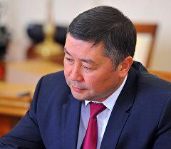 Архивное фото депутата ЖК Каната Исаева