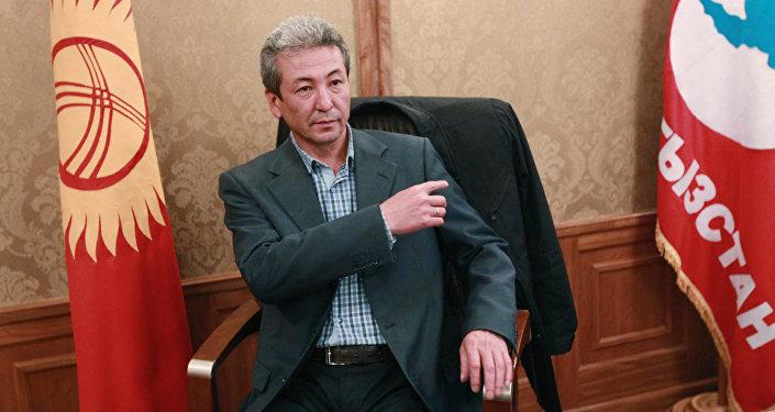 Бүтүн Кыргызстан партиясынын лидери Адахан Мадумаров