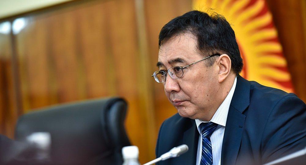Кыргызстандын мурдагы вице-премьер-министри Абдырахман Маматалиев. Архив
