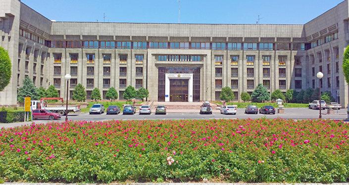 Офис Национального банка в Алматы, Казахстан. Архивное фото