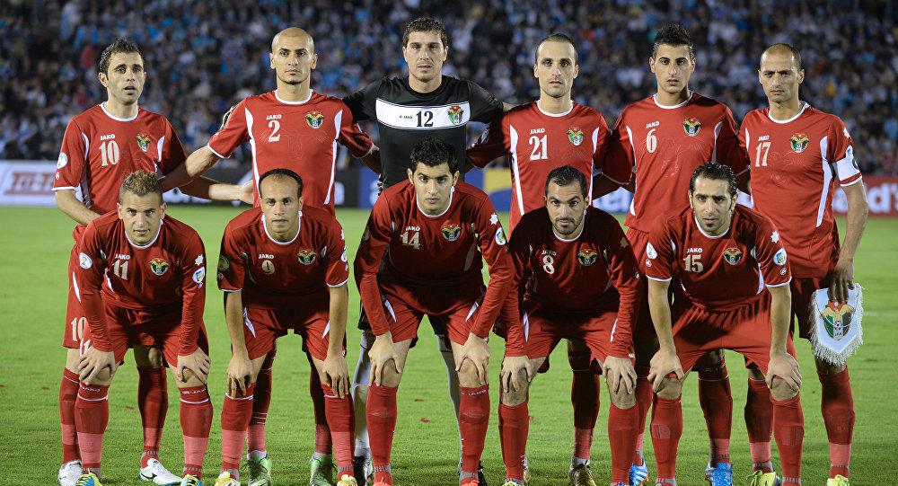 Сборная Иордании по футболу (2014 год). Архивное фото