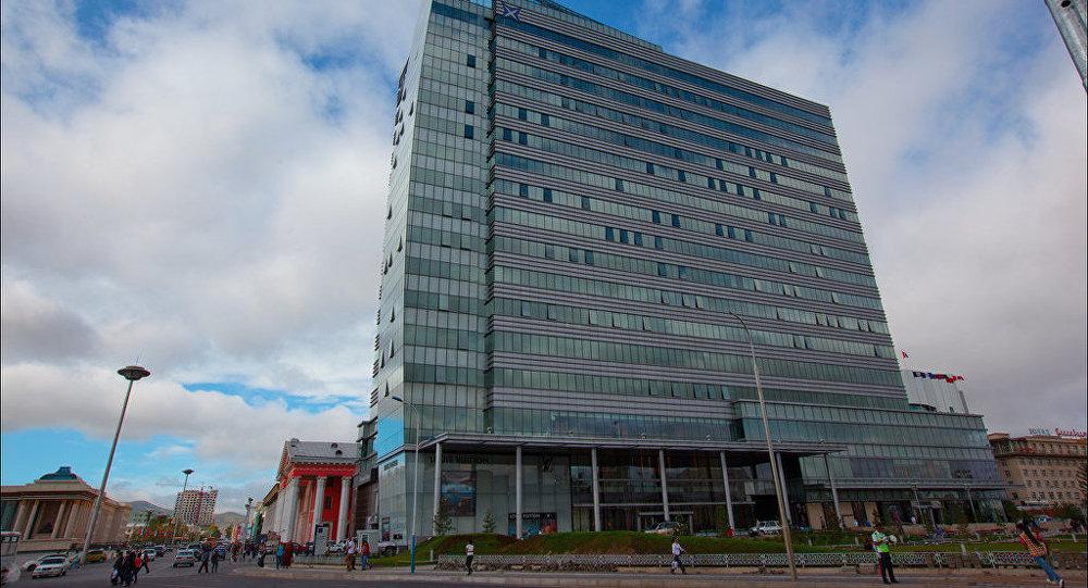Здание в городе Улан-Батор, Монголия. Архивное фото