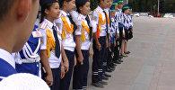Подготовка к школе по-милицейски: крики, сигналы и много детей