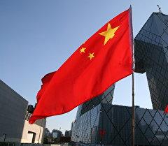 Кытай мамлекетинин желеги. Архив