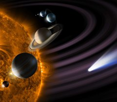Макет Солнечной системы