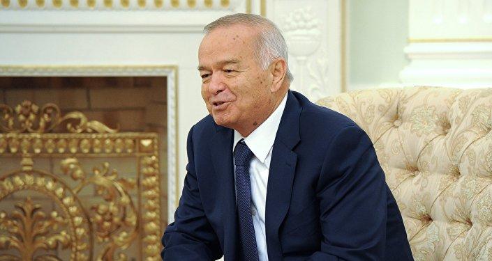 Өзбекстан президенти Ислам Каримов. Архив