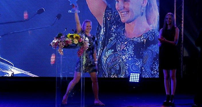 Семикратная чемпионка мира по тайскому боксу Антонина Шевченко. Архивное фото
