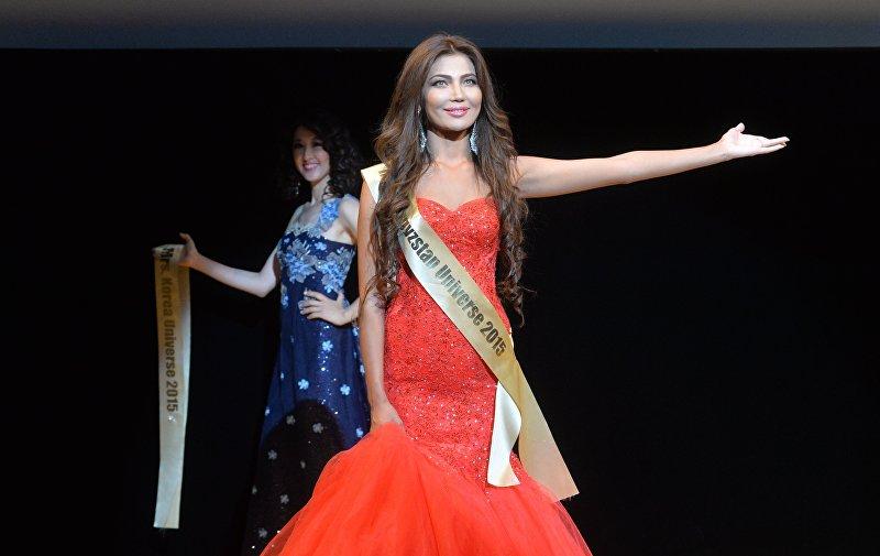 Участница международного конкурса Миссис Вселенная Тансулуу Омурзакова получила титул Миссис Красота