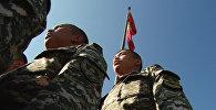 Будущие офицеры в честь Дня независимости спели государственный гимн