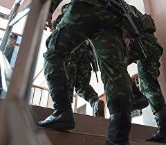 Военнослужащие Таиланда. Архивное фото