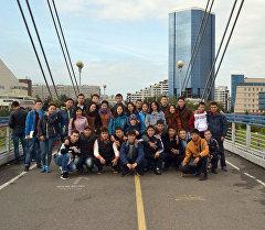 Кыргызстандык 58 абитуриент Россиянын Красноярск шаарында Сибирь Федералдык университетинен билим алуу үчүн жөнөдү