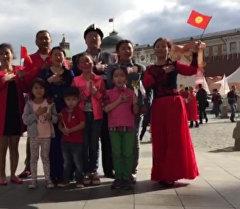 Дүйнөнүн чар тарабынан Кыргызстандын гимни жаңырды