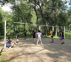 Кыргызстандын Эгемендүүлүгүнө карата Россиянын Хабаровск шаарында волейбол үчүн эл аралык турнир өттү.