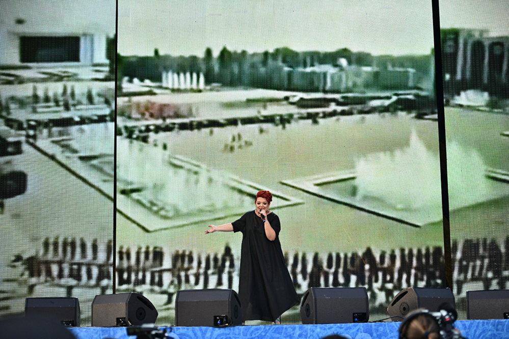 Концерт прошел с участием кыргызских исполнителей