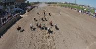 С высоты птичьего полета: скачки и кок-бору на ипподроме Ак кула