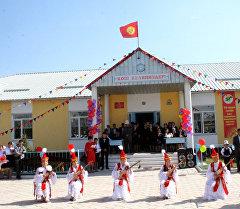 Нарын облусунун Кара-Булуң айылында 14 миллион 854 миң сомдук жаңы спорт комплекс ачылды.