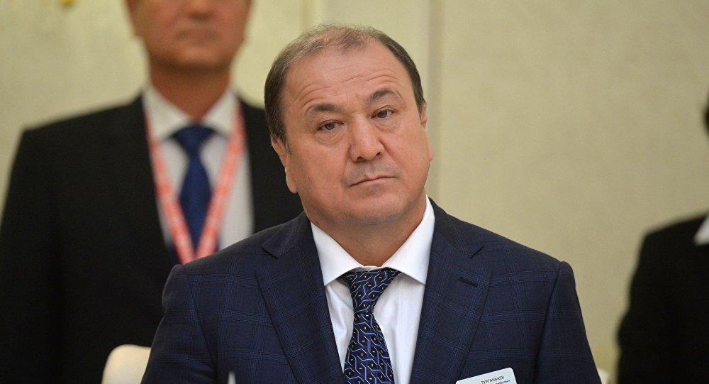 Министр МВД Мелис Турганбаев. Архивное фото