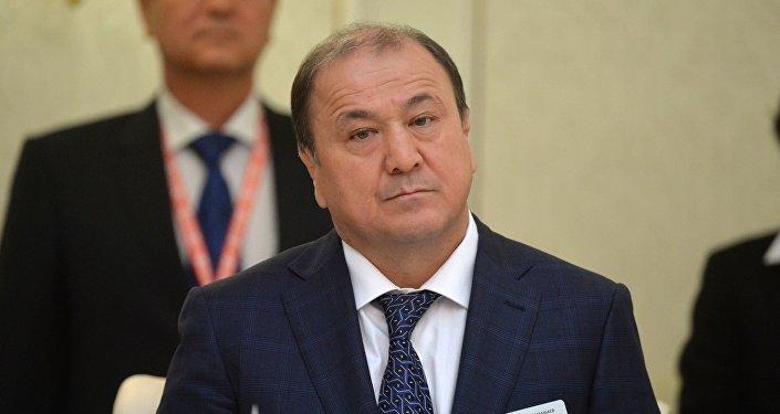 Министр внутренних дел Кыргызской Республики Мелис Турганбаев в Минске.