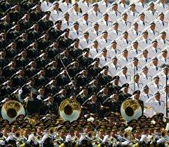 Бул өлкөдө Кытайдын түзүлгөн күнүнө арналбаган парад биринчи ирет өтүп жатат.