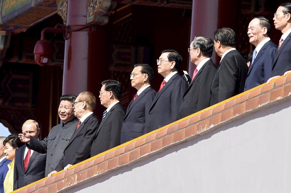 Пекиндеги аскер парады Жеңиштин 70 жылдыгына арналды