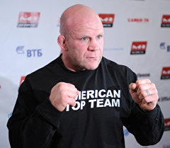 Американский борец по смешанным боевым искусствам Джефф Монсон. Архивное фото