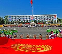 Ошто Кыргызстандын эгемендик күнүн белгилөө. Архив
