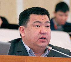 Депутат Жогорку Кенеша от фракции Республика Нурбек Мурашев. Архивное фото