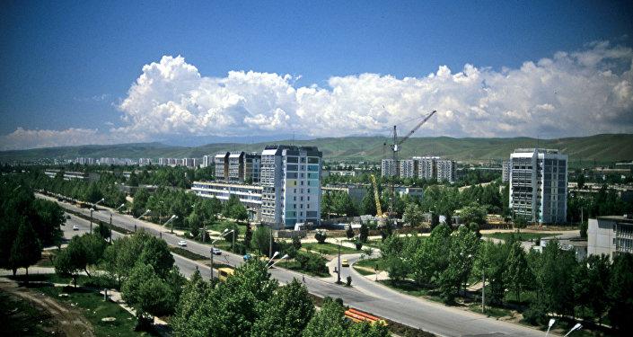 Вид на город Душанбе. Архивное фото