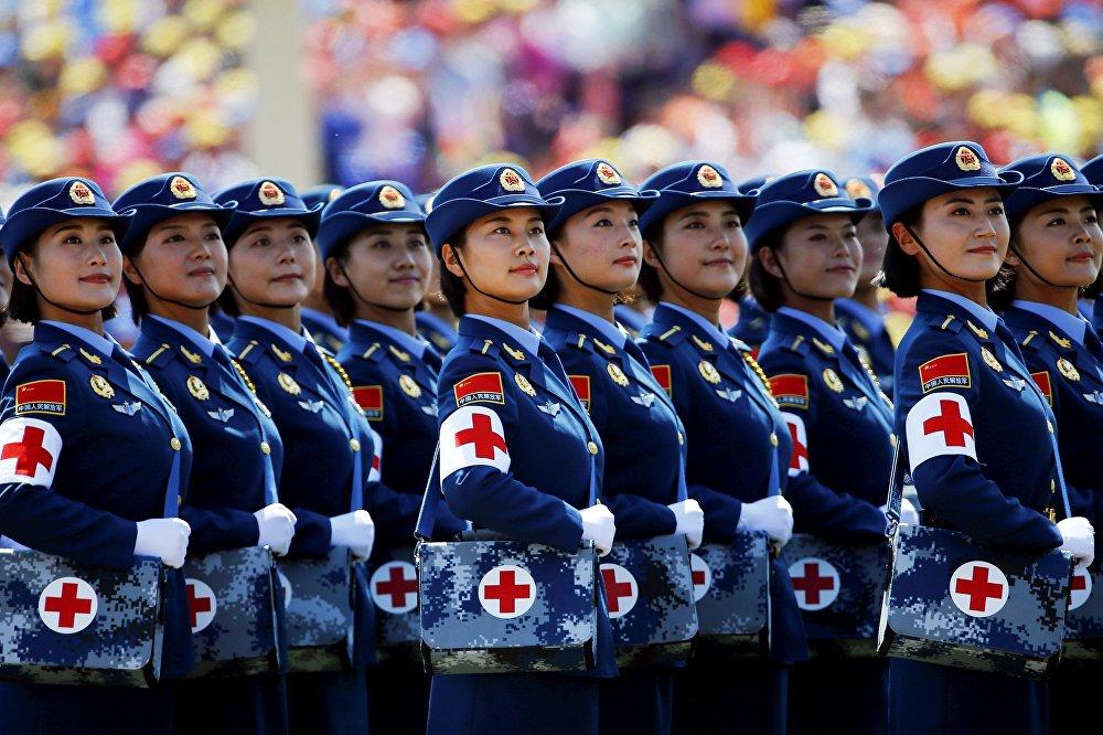 Военный парад, посвященный 70-й годовщине победы в Китае