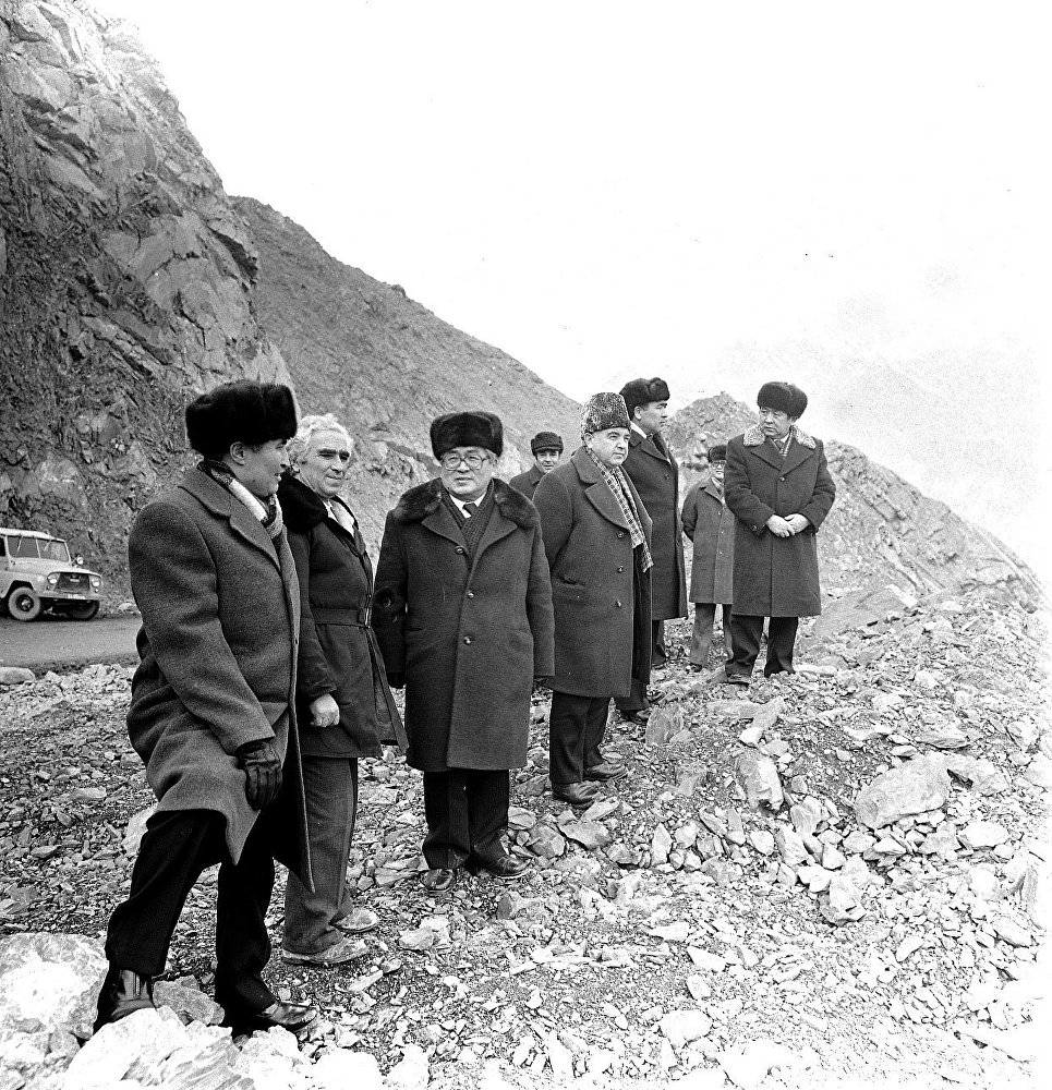 Строительство Курпсайской ГЭС