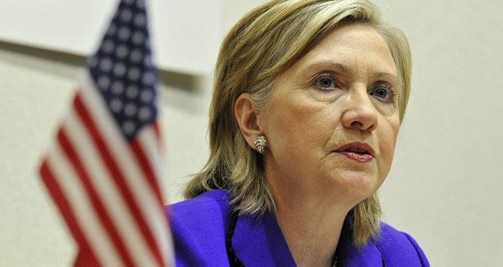 Государственный секретарь США Хиллари Клинтон. Архивное фото