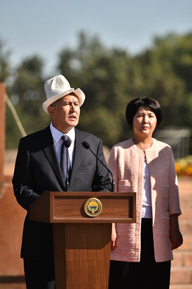 Ал өмүр бою Кыргызстандын кызыкчылыгы үчүн күрөшүп келди, кыргыз элине кызмат жасады, — деди президент